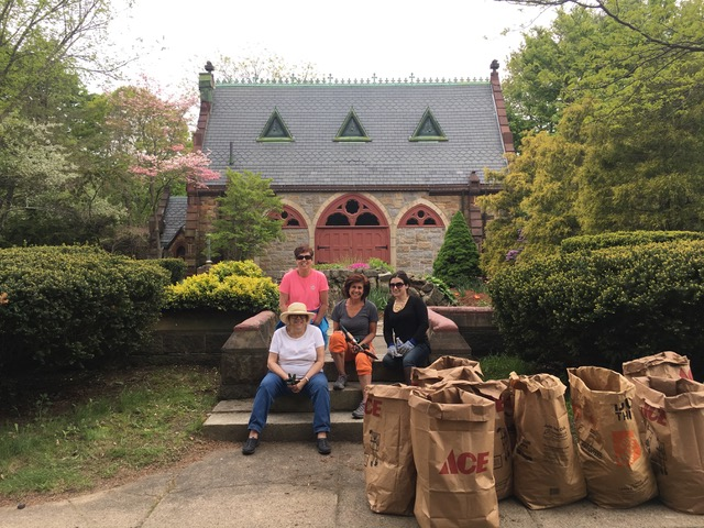 Conservatory Garden Clean-up - May 19, 2018