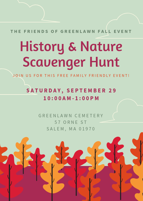 The Friends of Greenlawn Fall Event